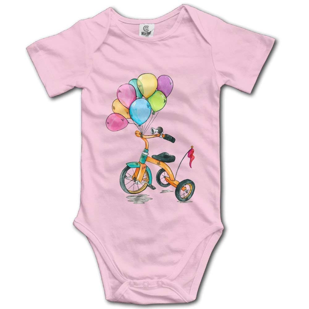 Childrens Car Balloon Newborn Baby Sleeveless Jumpsuit Romper