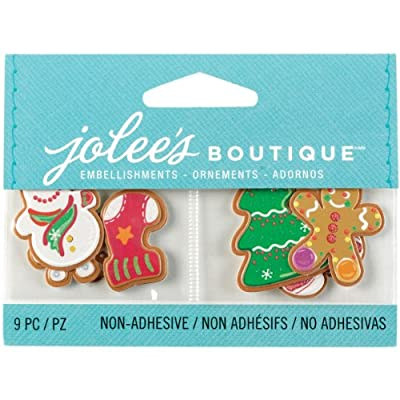 Jolee's Boutique Scrapbooking Embellishments, Christmas Cookies