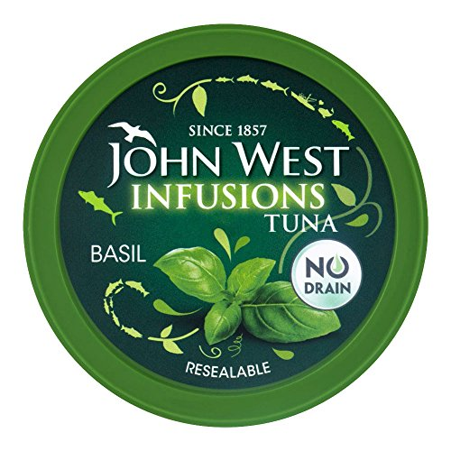 (John West Tuna Infusions With Basil 80g)