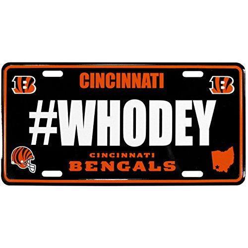 Siskiyou NFL Cincinnati Bengals Hashtag License ()