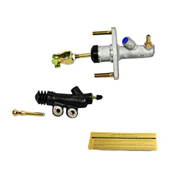 EFT Cilindro maestro de embrague + esclavo para 02 - 06 RSX 02 - 05 Civic Si K20 L 5 velocidad: Amazon.es: Coche y moto