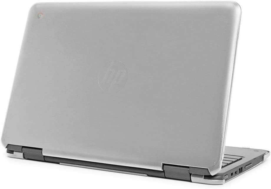 "mCover Hard Shell Case for Late-2019 11.6"" HP Chromebook X360 11 G2 EE laptops (Clear)"