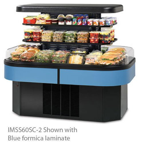 (Federal Industries IMSS60SC-3 Specialty Display Island Self-Serve Refrigerated M)