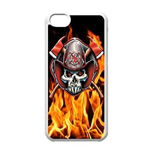 iPhone 5C Phone Case Firefighter Emblem EX91729