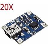 20X TP4056 5V 1A Lipo Battery Mini USB Charging Board Charger Module