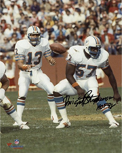 Dwight Stephenson Miami Dolphins Autographed 8