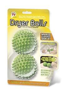 Smartworks 2 Piece Natural Fabric Softening Dryer Balls