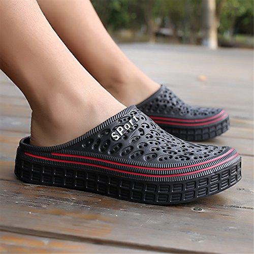 Plage De Sandale Outdoor Chaussons Mules Bety Clog Hommes Femmes Sabots Noir Été Pantoufles À Chaussures Enfiler nwCCqUA1g
