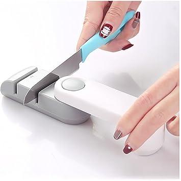 Afilador de cuchillos Hongxin 2 etapas profesional afilador ...