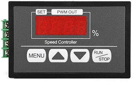 Queenwind DC6V-60V 30A PWM モータ速度レギュレータパワーコントローラ LED デジタルディスプレイ PWM 速度コントローラ