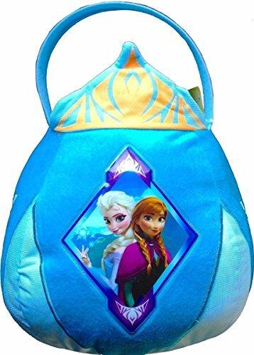Frozen Elsa Anna Plush Treat Basket - Easter or Halloween