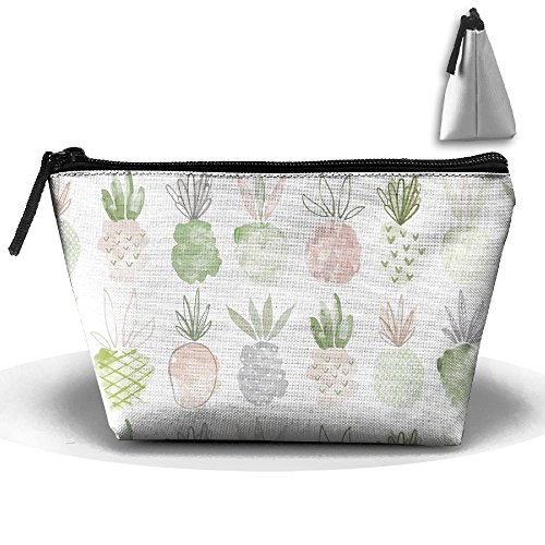 Travel Cosmetic Bags Abstract Strawberry Fruit Small Makeup Bag Multifunction Pouch Cosmetic Handbag Toiletries Organizer Bag for Women Girl]()