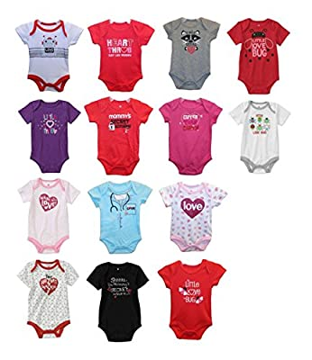 Valentine's Day Bodysuit for Boys & Girls