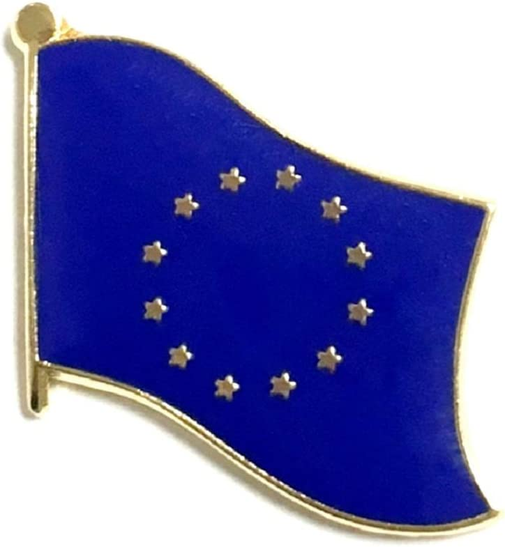 Union Jack Heart British Patriotic Quality enamel lapel pin badge