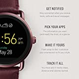 Fossil Q Wander Gen 2 Wine Leather Touchscreen Smartwatch FTW2113