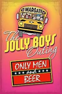 mini4257Jolly niños sólo los hombres y cerveza gracioso estilo Vintage Fine Wall Art Nostalgic Retro Vintage para colgar Metal Publicidad para la pared