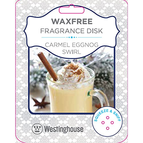 Westinghouse ES550036-TG Fragrance Disc, Carmel Eggnog (Fragrance Lamps Wholesale)