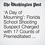 'A Day of Mourning': Florida School Shooting Suspect Charged with 17 Counts of Premeditated Murder | Lori Rozsa,Mark Berman,Devlin Barrett