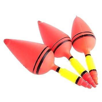 Luwu-Store Mini Durable 3X flotadores 3 tamaños Sea Carp Práctico Aparejos de Pesca Accesorios Red: Amazon.es: Deportes y aire libre