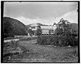 Vintography 24 x 30 Giclee Unframed Photo Governor's Residence in The Botanical Gardens Port Spain Trinidad W I 1900 Detriot Publishing co. 46a