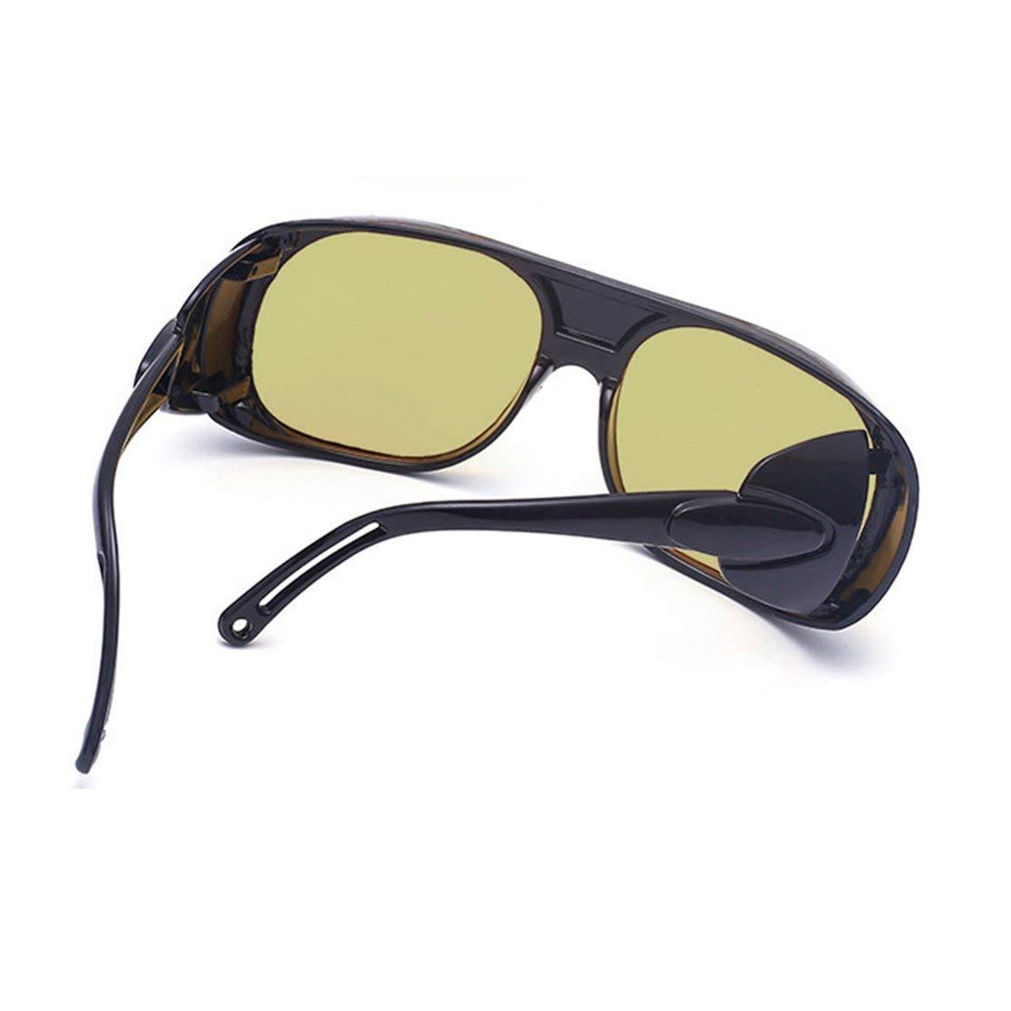LouiseEvel215 Occhiali da Vista per la Visione Notturna delle Donne degli Uomini Occhiali antiriflesso per la Protezione degli Occhiali Anti-Vento