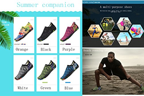 Surfing Shoes Sports Barefoot Outdoor BADIER Shoes Creek Water Women Socks Blue Pool Men xwTv1q6