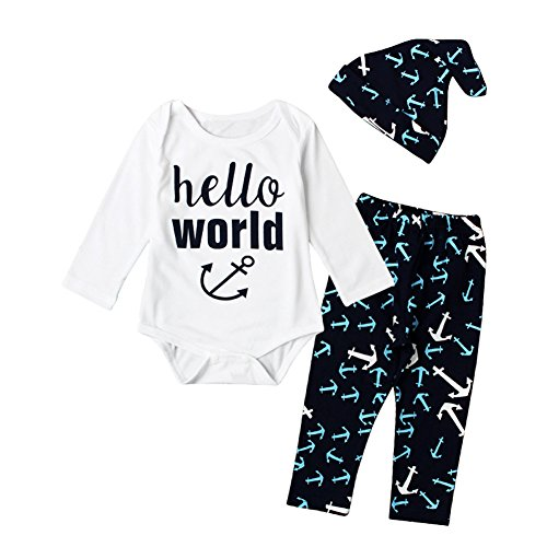 EITC Hello World Newborn Outfit product image
