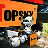 TOPSKY TS2006 Trailer Hitch Tri Ball Mount for