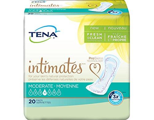 TENA 41300 Intimates Moderate Regular Pads 120/Case