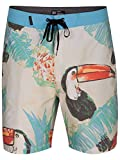 Hurley Men's Toucan 18 in Boardshorts, Summit White - Best Reviews Guide