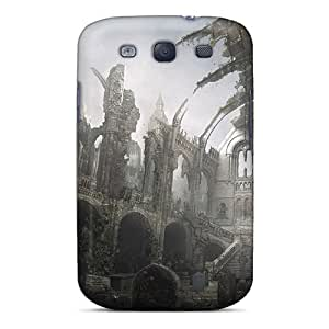 Galaxy Case - Tpu Case Protective For Galaxy S3- Cemetery