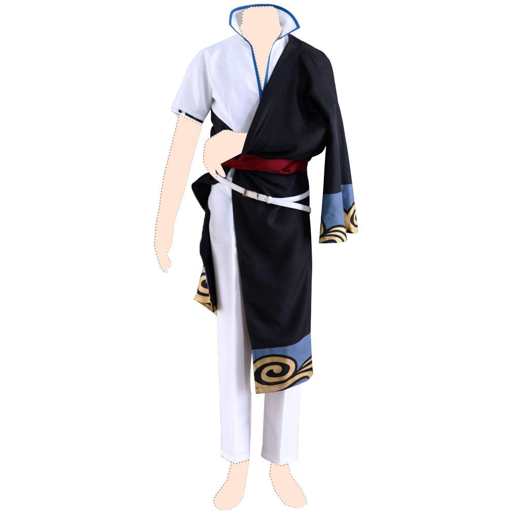 Gin Tama Disfraz cosplay Sakata Gintoki 1st ver-Kimono Large