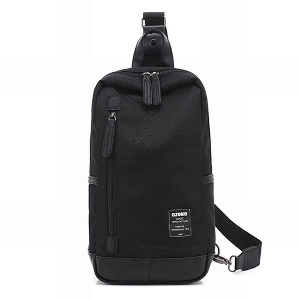 SY Creative Fashion Multi-Function Male Shoulder Bag Messenger Bag Casual Canvas Chest Bag Men Bag for Men