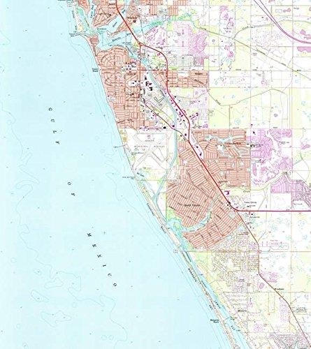 Amazon Com Imagekind Wall Art Print Entitled Venice Florida Map