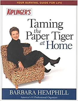 Book Taming the Paper Tiger at Home, Fifth Edition by Barbara Hemphill (1998-10-25)