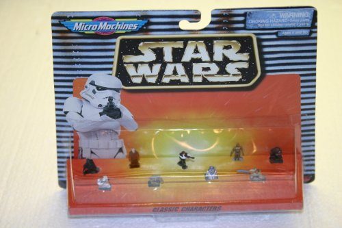 Star Wars Classic Characters Micro Machines Figure Collection
