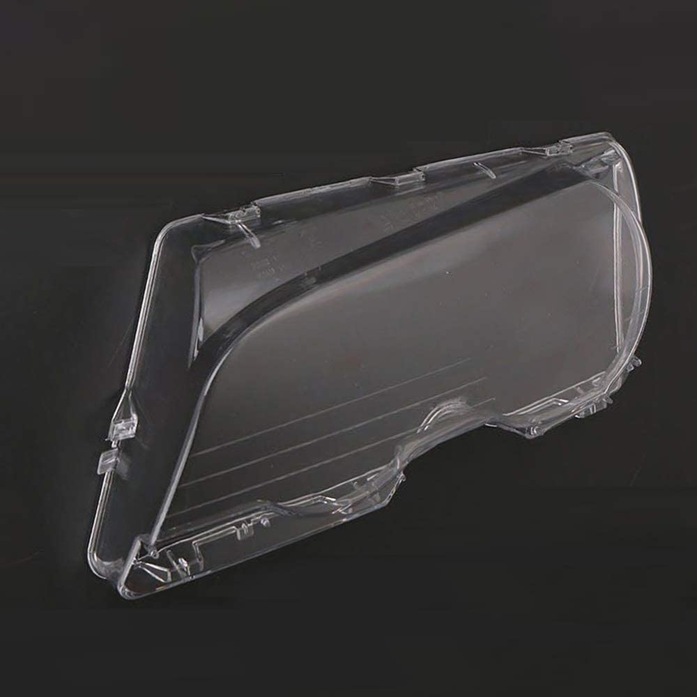 KKmoon Headlight Clear Cover Left Side Headlamp Lense Lens Front Headlamp Lens Replacemnt for BMW E46 2DR M3 325Ci 01-06 Base Coupe 2 Door 1999-03
