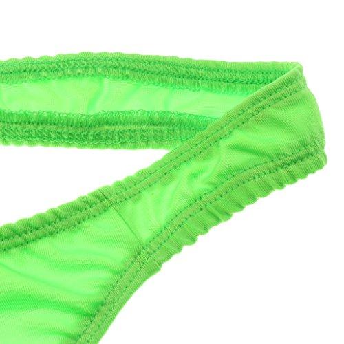 Interior Verde Calzoncillos Pretina Diseño Ropa Estilo Hombre Tridimensional Encantador Atractiva Homyl Elástica w6aEPw