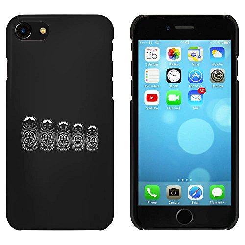 Noir 'Poupées Matryoshka' étui / housse pour iPhone 7 (MC00058583)