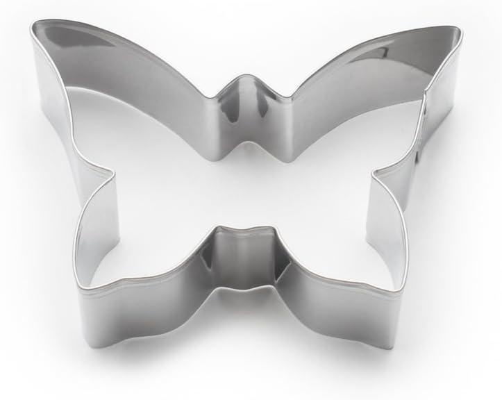 Silver Darice FR3345 Butterfly Cookie Cutter STD