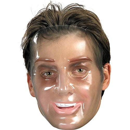 Young Male Plastic Transparent Mask product image