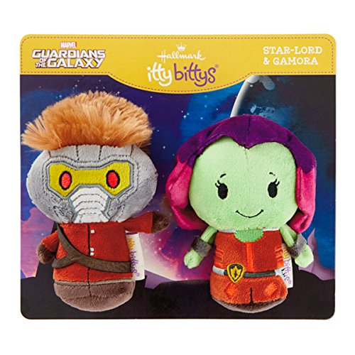 Hallmark Itty Bitty Guardians of the Galaxy Starlord and Gamora Plush