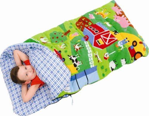 Bazoongi Barnyard Fun Kids Slumber Bag