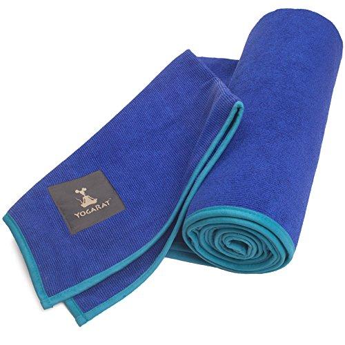 YogaRat Hot Yoga Towel: 100% Microfiber, 600 Gsm Ultra