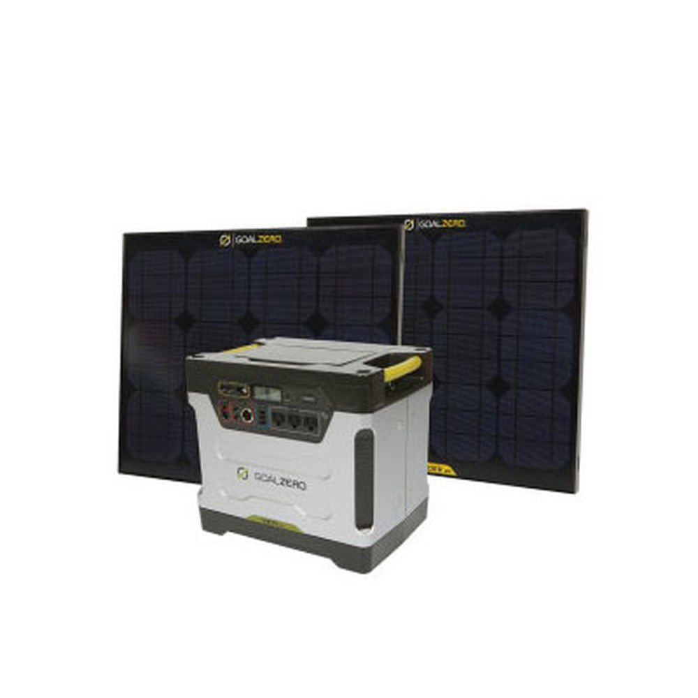 Goal Zero Yeti 1250 Solar Generator With Roll Cart