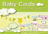 Baby Cards 'Auf deinen Spuren': 82 Foto- Erinnerungskarten für das erste Jahr Ihres Babys, unisex