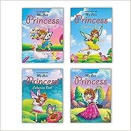 50+ Princess Colouring Book Video HD