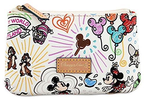 Walt Disney World Sketch Cosmetic Bag Dooney -