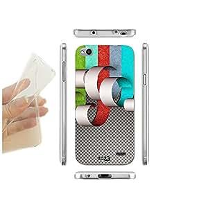 caselabdesigns carcasa funda blanda rayas tagliate para Vodafone Smart Ultra 6TPU–Concha de silicona protectora antigolpes