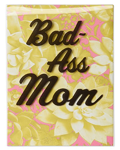 American Greetings Funny Bad-Ass Mother's Day Greeting Card ()